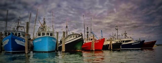 fishing boats in montauk
